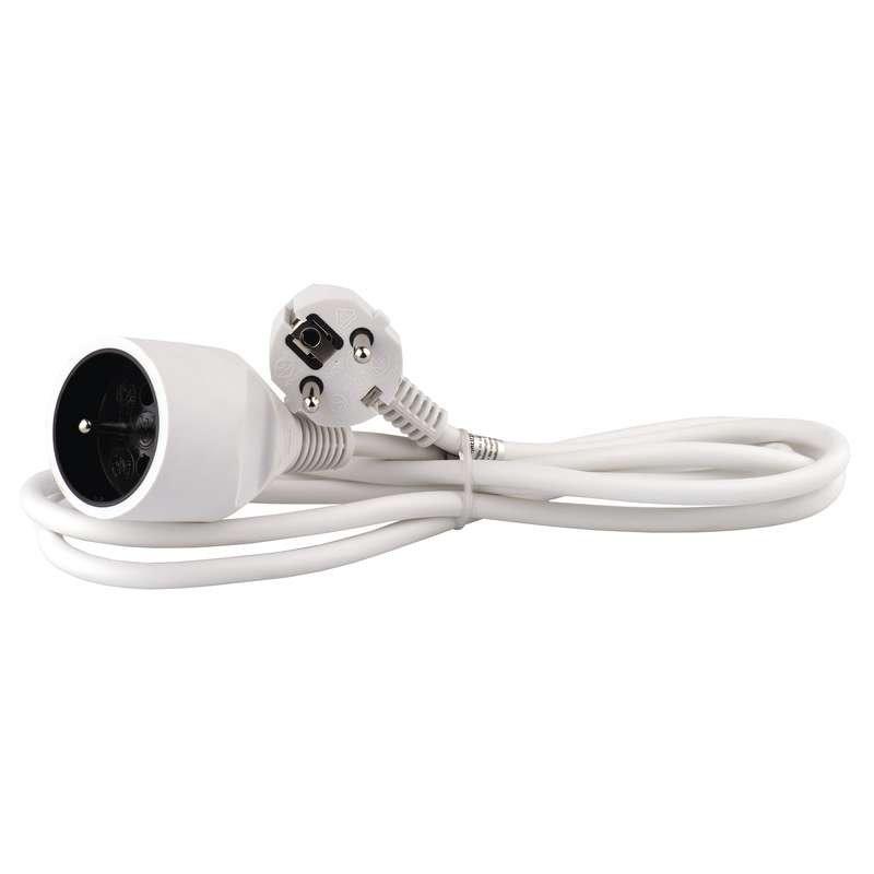 EMOS Predlžovací kábel 1x zásuvka 2m biela