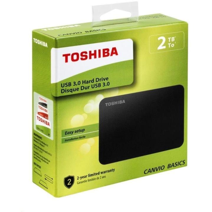"TOSHIBA Canvio Basics (2018) 2TB USB3.0 2,5"""