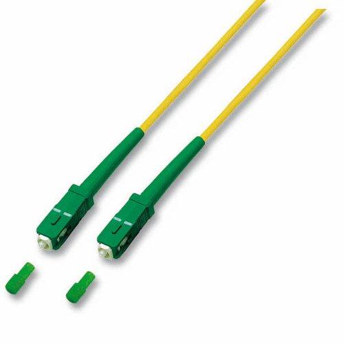 Optický kábel SC/APC-SC/APC SimplexOS2 (9/125) 0,5