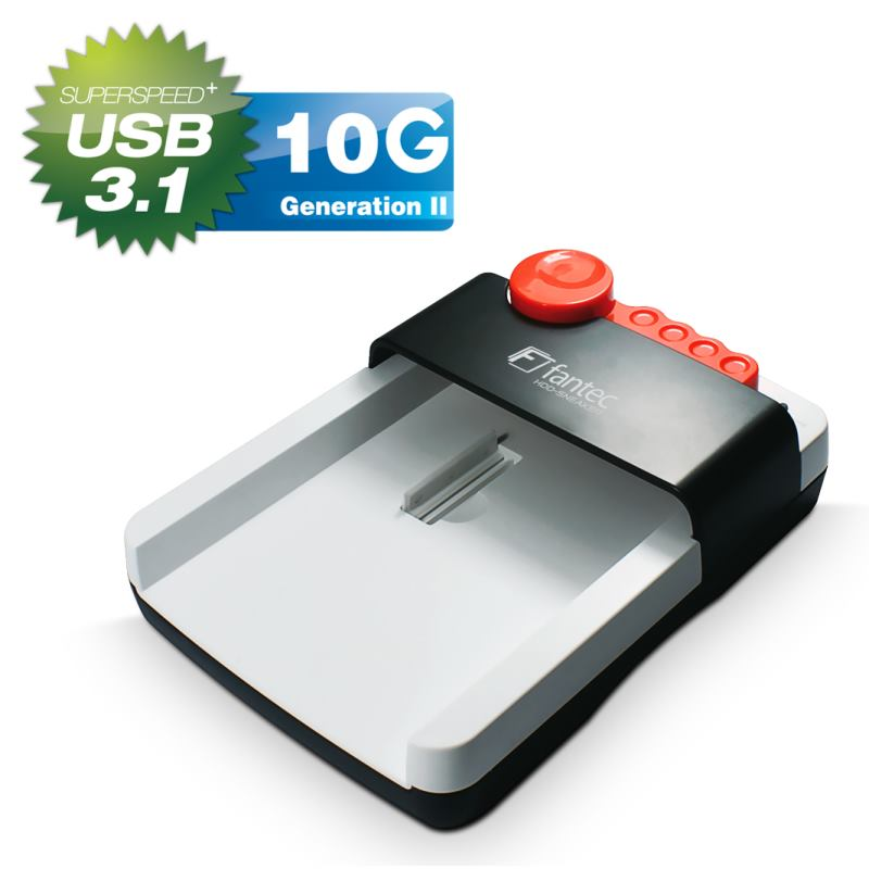 FANTEC HDD-Sneaker 2 USB 3.1 Typ-C Docking