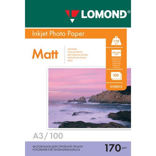 LOM Pho Inkj Matt 170g/m2 100/A3DS 0102012