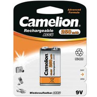 CAMELION Batéria nabíjateľná 9V 1ks NIMH 250mAH