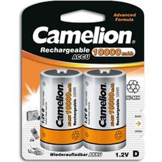 CAMELION Batérie nabíjateľné D 2ks NI-MH R20 D 100