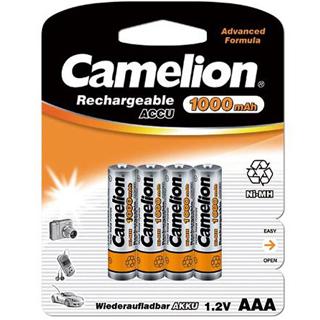 CAMELION Batérie nabíjateľné AAA 4ks NI-MH 1000mAh