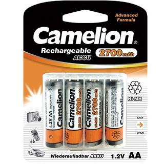 CAMELION Batérie nabíjateľné AA 4ks NI-MH2700mAh
