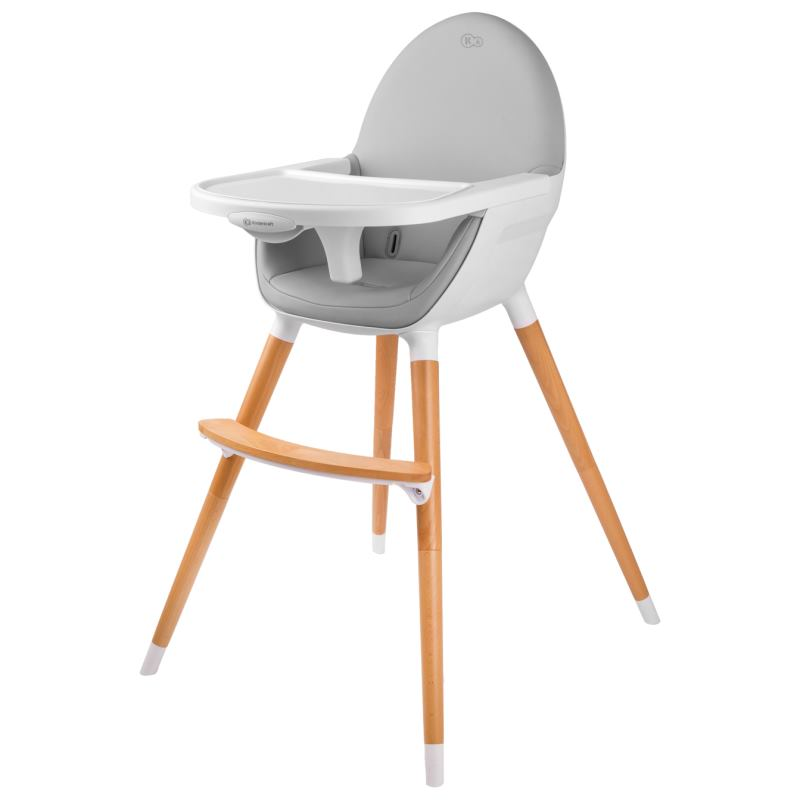 KINDERKRAFT High chair FINI grey/grey