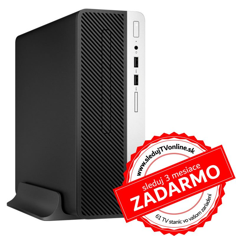 HP ProDesk 400 G5 SFF i5-8500/8G/256G/DVD/Int/W10P