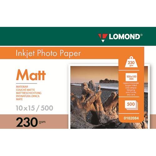 LOM - Pho Inkj Matt 230g/m2 500/10x15