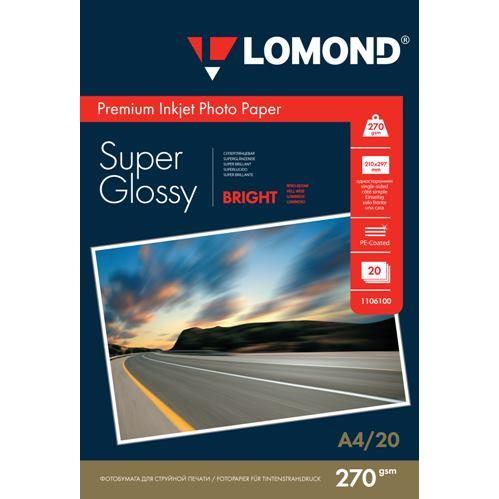 LOM - Prem Photo Super Glossy 20x270g/m2 A4
