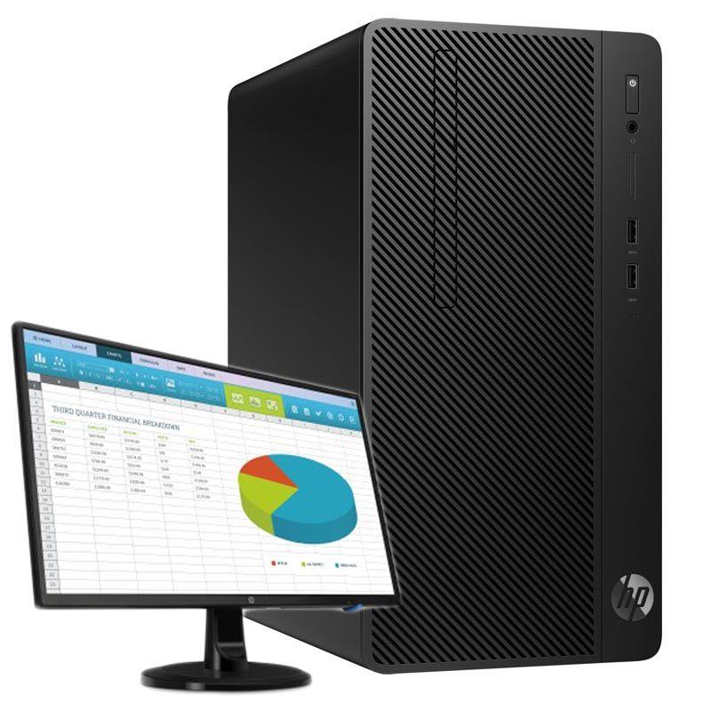 HP 285 G3 MT 2200G/4G/500G/Int/DVD/Bez OS+HP N246v
