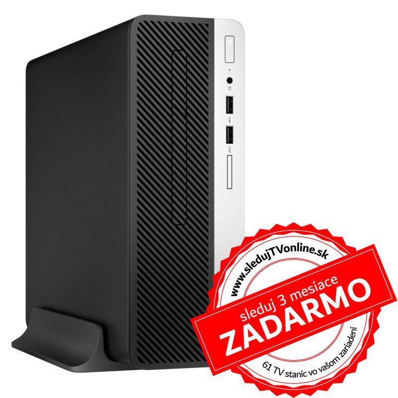 HP ProDesk 400 G5 SFF i3-8100/4G/128G/DVD/Int/W10P