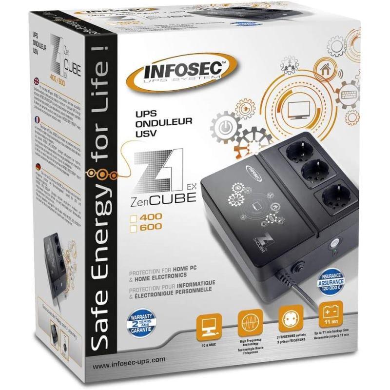 INFOSEC  Z1 ZEN Cube 400 200W 66072