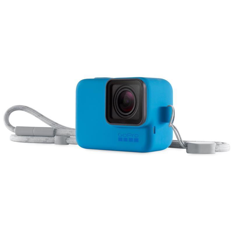 GoPro Lanyard Silikónový obal modrý