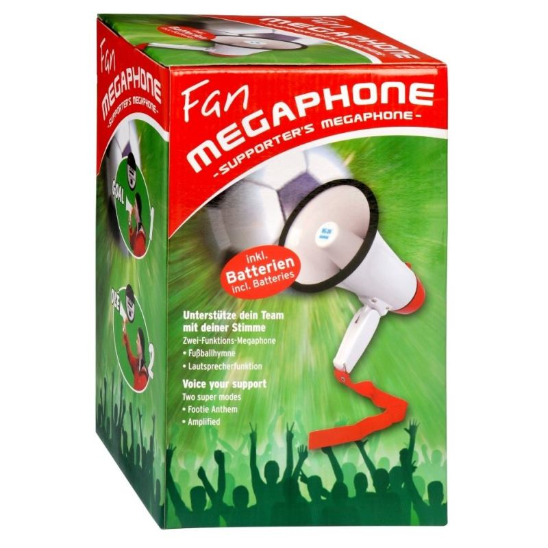INTENSO FAN Megafón, (9504001)