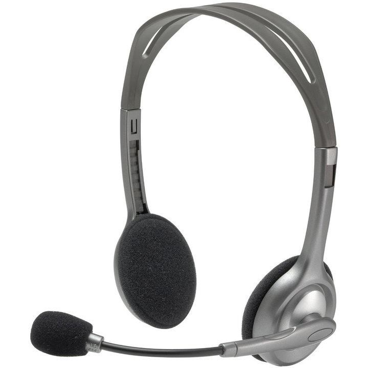 LOGITECH H110 Stereo Headset - EMEA