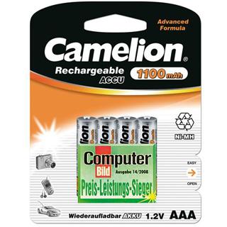 CAMELION Batérie nabíjateľné AAA 4ks NI-MH 1100mA