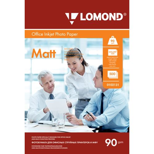 LOM - Pho Inkj Matt 90 g/m2, A4/500