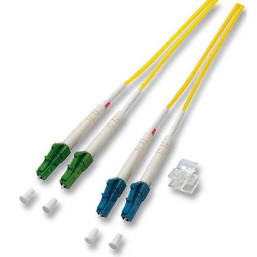 Fiber kábel LC/APC-LC 2m Duplex OS2(9/125um)