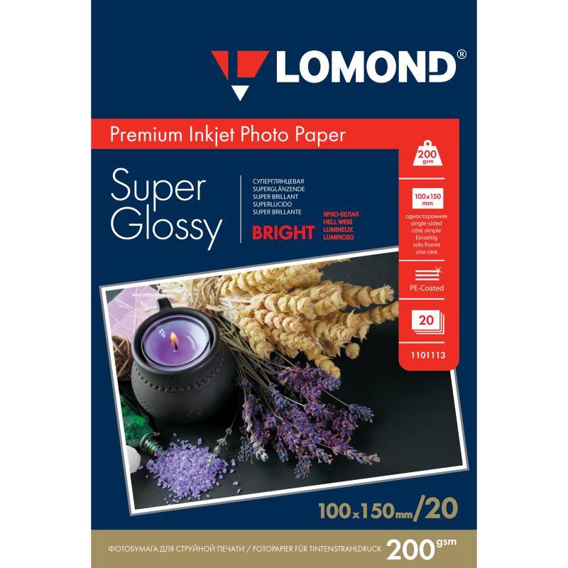 LOM - Prem Ph Super Glossy 20x200g/m2 A6 1101113