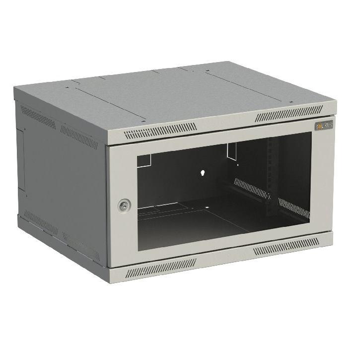 SOLARIX Nástenný rozvádzač SENSA 6U 500mm, sklo