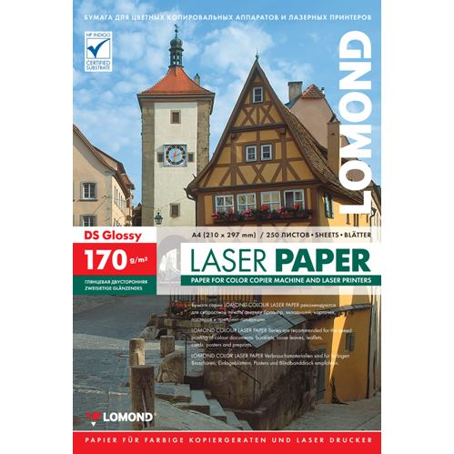 Lomond CLC Paper Glossy 170g/m2 A4/250 DS 0310241