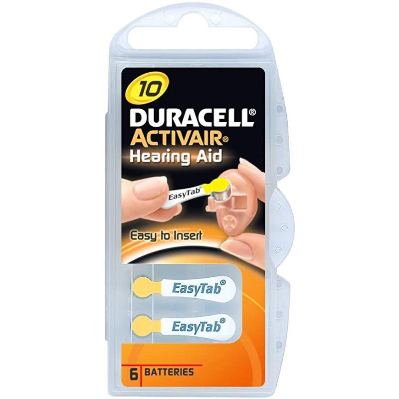 DURACELL Activair 10, Batérie do nač. prístrojov