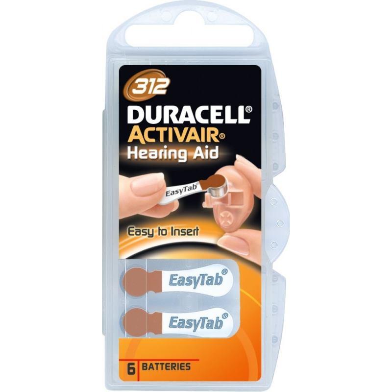 DURACELL Activair 312, Batérie do nač. prístrojov