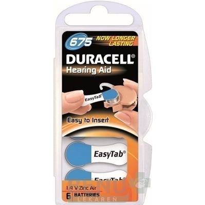 DURACELL Activair 675, Batérie do nač. prístrojov
