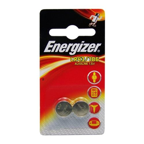 ENERGIZER L43/186, Batérie,  AG12, G12A, 1,5V 2ks