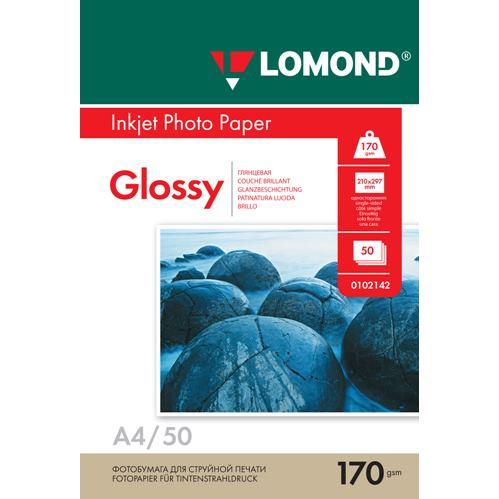 LOM Photo Inkjet Glossy 170g/m2  A4/50 0102142