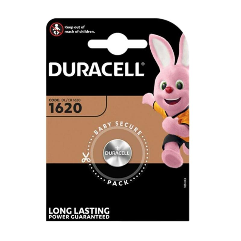 DURACELL Lítiová batéria, DL/CR1620 - 3.0V 68 mAh