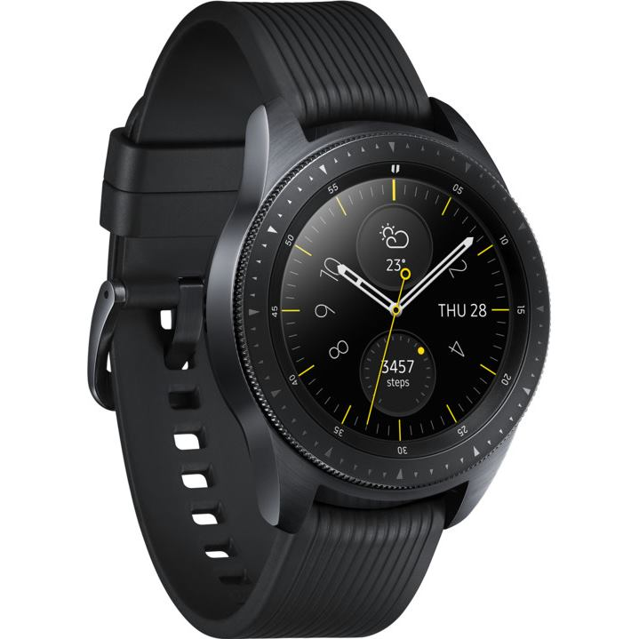SAMSUNG Gear Watch 42mm Black 7df33d50841