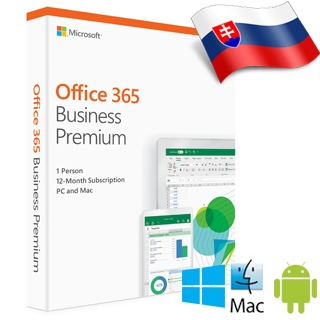 MS Office 365 Bussines Premium SK 1rok ML (2019)