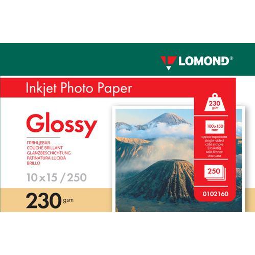 LOM PhotoInkjetGlossy 230g/m2 250/10x15cm 0102160