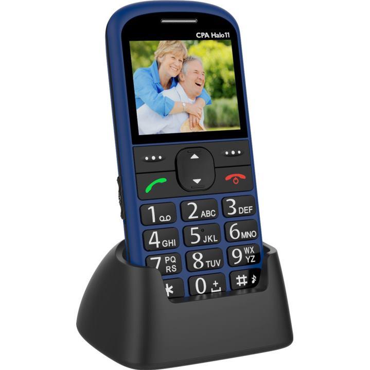 MYPHONE Telefón pre seniorov HALO 11 modrý