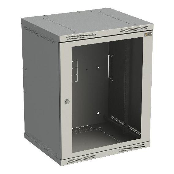 SOLARIX Nástenný rozvádzač SENSA 15U 600x500mm skl
