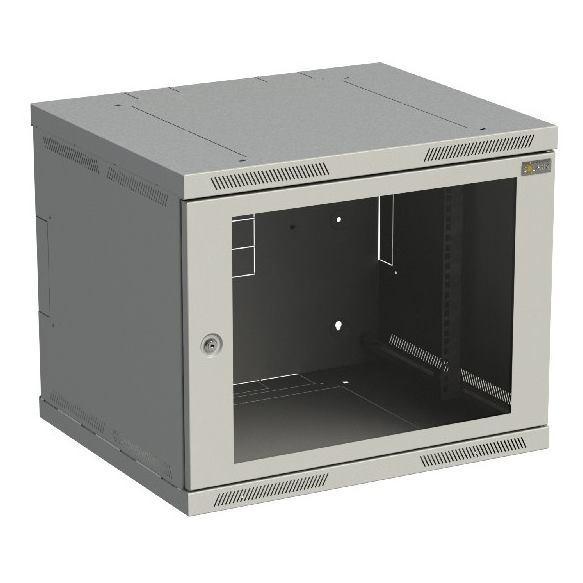 SOLARIX Nástenný rozvádzač SENSA 9U 600x500mm skl