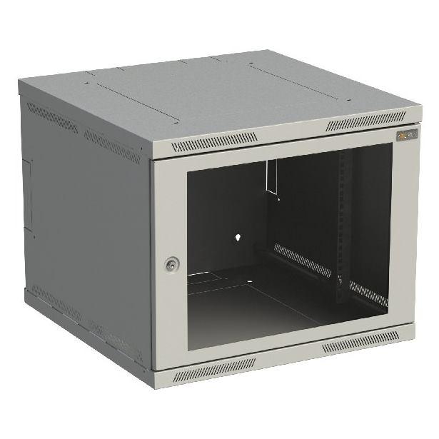 SOLARIX Nástenný rozvádzač SENSA 9U 600x600mm skl