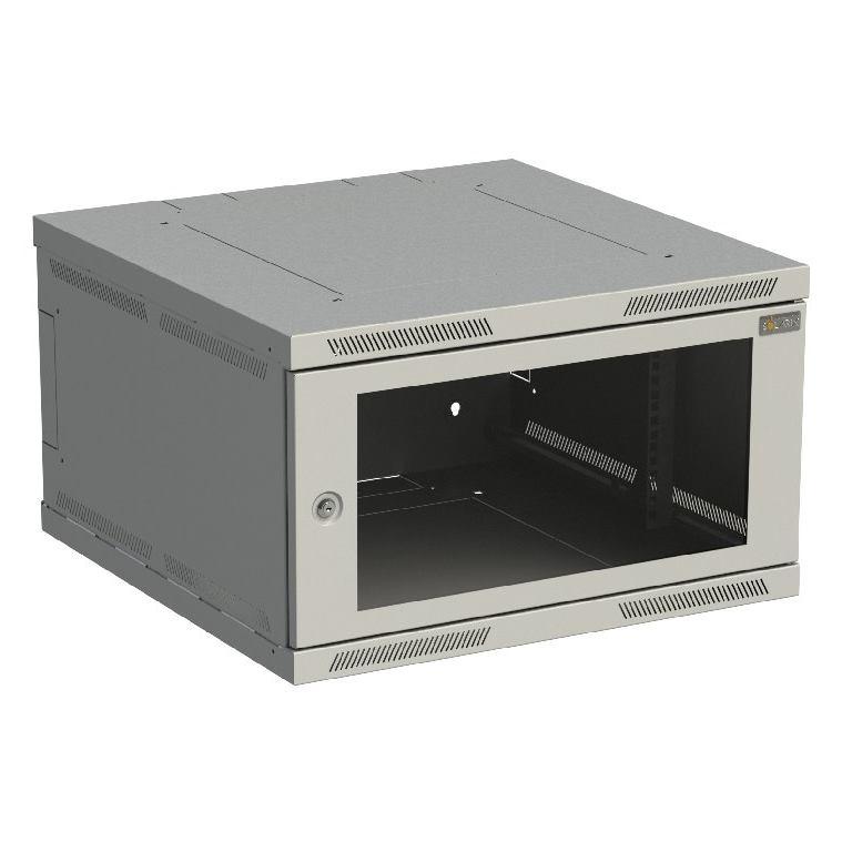 SOLARIX Nástenný rozvádzač SENSA 6U 600x600mm skl