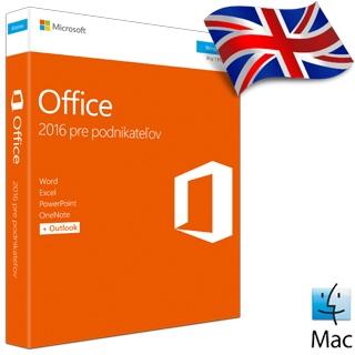 MS OFFICE Pre podnikateľov 2016 EN ML for Mac