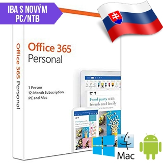 MS Office 365 Personal SK 1rok ML Save Now