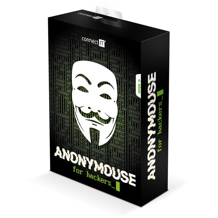 CONNECT IT CMO-3570-BK Anonymouse