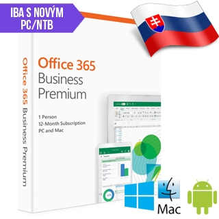 MS Office 365 Bussines Premium SK 1rok ML SN