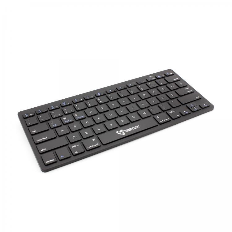 SBOX BT klávesnica BT-05 Black