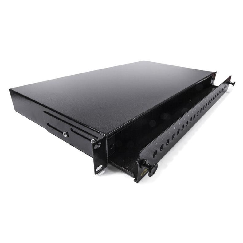 KELINE Patch panel výsuvný pre 24 x ST-ST alebo FC
