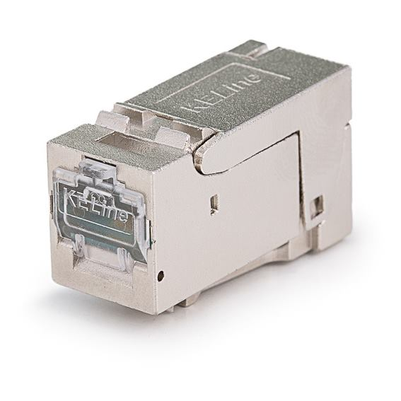 KELINE Keystone Jack HD, Category 6a, RJ45/s
