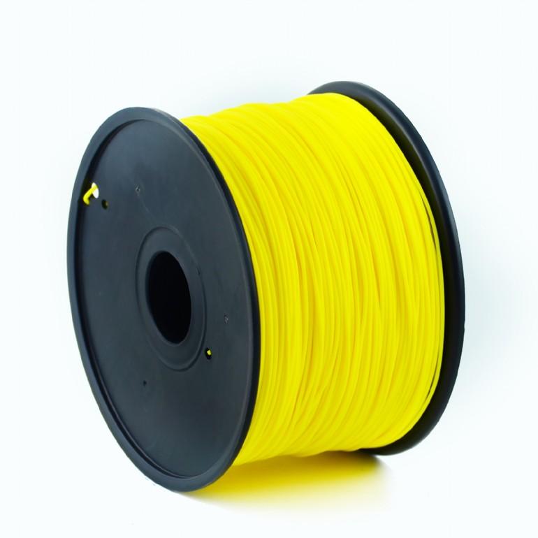 GEMBIRD Náplň 3D ABS/1.75mm/1kg Fluorescent Yellow