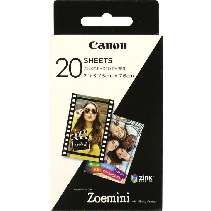 CANON ZP-2030 20 ks ZINK fotopapier pre Zoemini