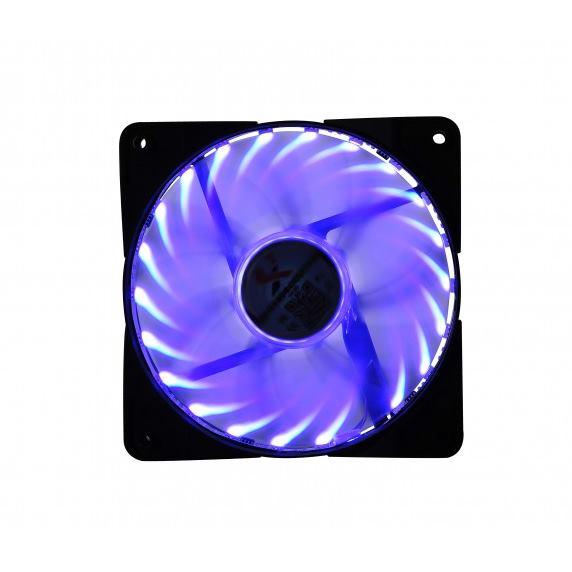 X2 Ventilátor Blue LED Fan 120cm