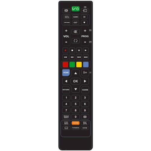 77888e363 SUPERIOR RC UNI TV SONY Black - Univerzálny diaľkový ovládač pre TV Sony  22.045234